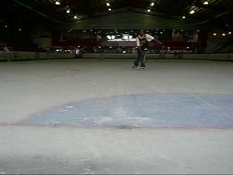 How To Hockey Stop Part 2 Ice Skating tutorial Learn To Snow Plough Eagle Stop & Heel Stop Here