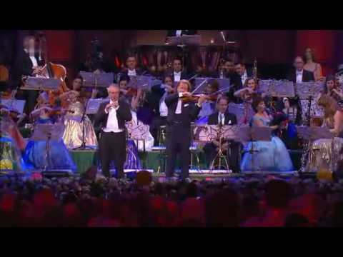 Andre Rieu & Australian Pipe Band - Scotland the Brave & Amazing Grace 2008