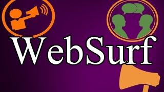 WebSurf(Вебсерф) - бесплатный сервис автоматизированной раскрутки ваших сайтов и видео.                             Регистрация по ссылке :  http://websurf.ru/?ref=295316Отличный сервис раскрутки ваших сайтов и видео в Ютубе(YouTube) – имеет название WebSurf(Вебсерф). Хочу подметить, что данный сервис бесплатный, хотя разуметься есть возможность воспользоваться платными услугами, что еще лучше может повысить ваш результат.     Надеюсь, я помог вам разобраться и вы уже начали раскручивать свой сайт или видео на  Ютубе(YouTube) канал. Будьте добры, дайте обратную связь, если мой ролик стал для вас полезным. Подписывайтесь на мой канал, буду стараться преподносить для вас ценную и полезную  информацию :   https://www.youtube.com/chann/UCWZAGgAtgkrP2whqWvDksYwСмотрите также, мое деловое предложение для вас : http://mihockiydg.weebly.com                                                                      Как зарегистрироваться в партнерке AIR (АИР) и начать зарабатывать на Youtube (Ютубе). : https://www.youtube.com/watch?v=AkVWA2PlOuAВозникли вопросы? Свяжитесь со мной:  Skype:  mihockiydmitriyТакже в соц сети:В контакте: https://vk.com/mihockiydmitriyFacebook: https://www.facebook.com/profile.php?id=100006438060634Твиттер: https://twitter.com/DmitriyMihockWebSurf(Вебсерф) - бесплатный сервис автоматизированной раскрутки ваших сайтов и видео.