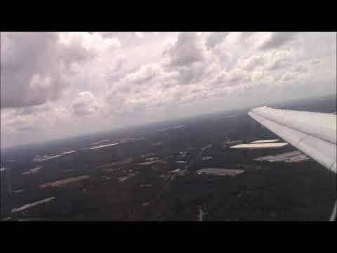 Delta Airlines MD-88 | Landing at Atlanta Hartsfield Intl (KATL) 9-5-18