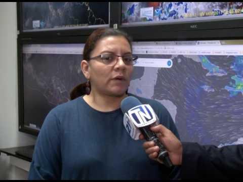Este jueves se esperan tormentas aisladas por vaguada que afecta la región
