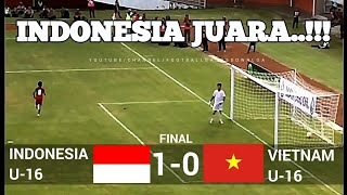 Video INDONESIA JUARA !!! FULL TIME 1-0  INDONESIA VS VIETNAM  ✓ U-16 JENESYS CUP 2018  ✓ 12/03/18 MP3, 3GP, MP4, WEBM, AVI, FLV Maret 2018
