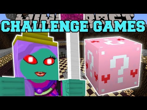Minecraft: QUEEN ZOMBIE CHALLENGE GAMES - Lucky Block Mod - Modded Mini-Game (видео)