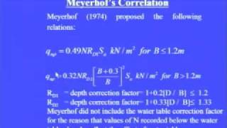 Mod-1 Lec-7 Shallow Foundation