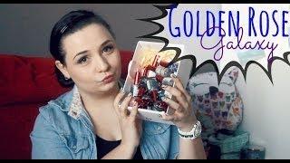 Galaxy Nail Color - Zdobiący lakier do paznokci - Golden Rose