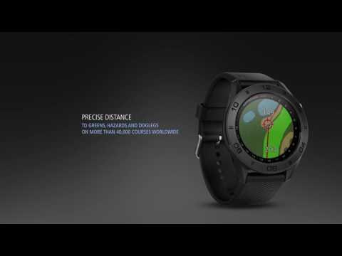 GARMIN PRESENT THE APPROACH S60 GPS WATCH