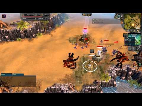 Battleforge PVP Replay #4 - iBoogie vs Benforcer (Hiroo) 2 of 2