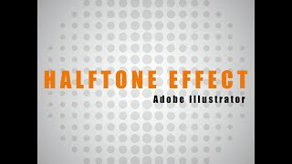 I show 2 ways of getting halftone effect, using pixelate - halftone raster effect then tracing it, and using Ctrl C/V + clipping. Enjoy!Music attribution:ES_Down In The Dirt - Niklas Ahlström