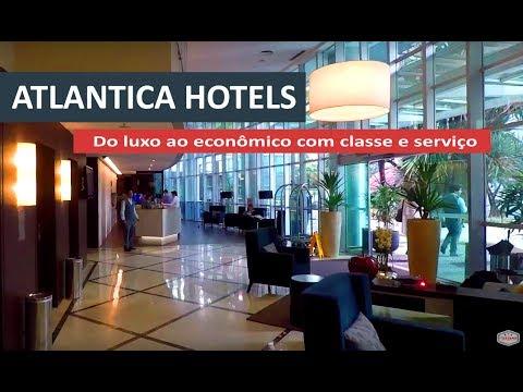 Do luxo ao econômico na Atlantica Hotels
