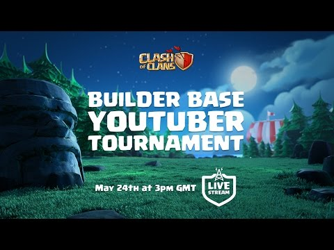 Clash of Clans - Builder Base Tournament! (Update stream)