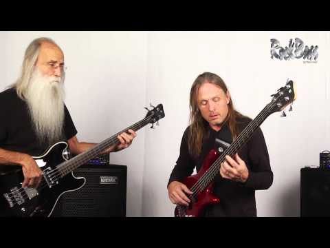 A short introduction to some of the new Rock Bass instruments by Warwick