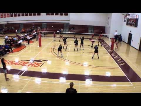 Goucher/Catholic - 10/5/13 - Set 1 (25-21)