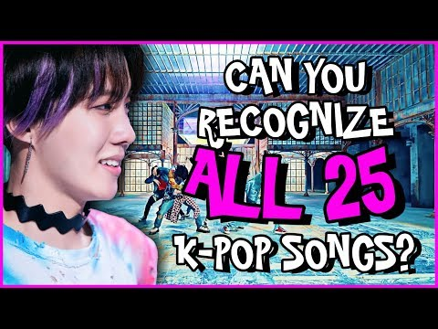 Video songs - GUESS 2018 KPOP HIT SONGS IN 3 SECONDS