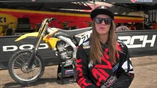 9. Vicki Golden Tests the 2015 RM-Z450