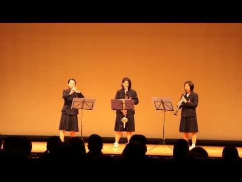 29.大蔵中学校   木管3重奏