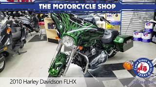 9. 2010 Harley Davidson FLHX street glide motorcycle for sale