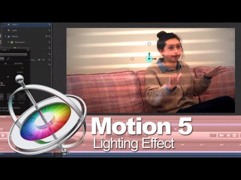 motion 5 tutorial shining - Download Motion 5 Project Files Free: http://finalcutking.com/motion-5-lighting-tutorial/ Zach King guides you through a cool lighting effect that is easy in...