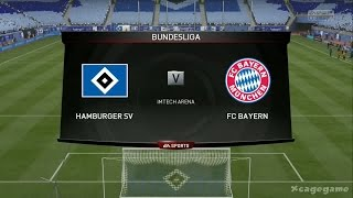 Video FIFA 15 - Gameplay - Hamburger SV VS FC Bayern München - Bundesliga - Full Game - Xbox One [ HD ] MP3, 3GP, MP4, WEBM, AVI, FLV Desember 2017