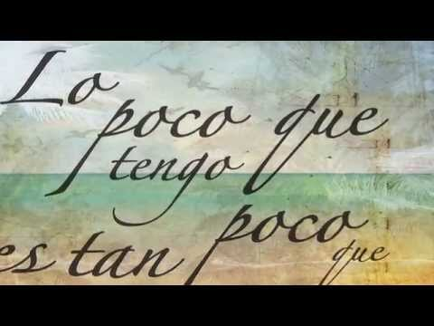 Lo Poco Que Tengo Lyric Video