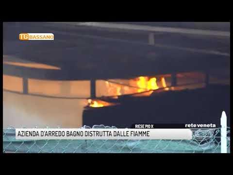Rete veneta 2018 01 09 azienda d arredo bagno distrutta dalle fiamme - Arredo bagno montebelluna ...