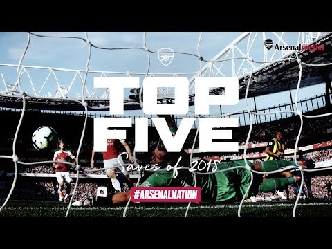 Which goalkeeper made the best save for Arsenal in 2018?