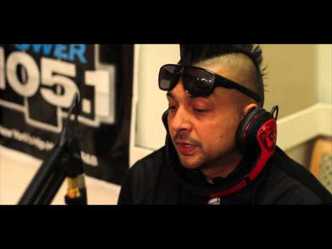 Sean Paul Sits Down With DJ Self [VIDEO]