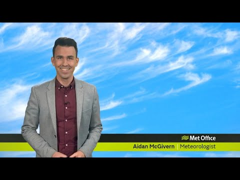 Friday afternoon forecast 13/09/19