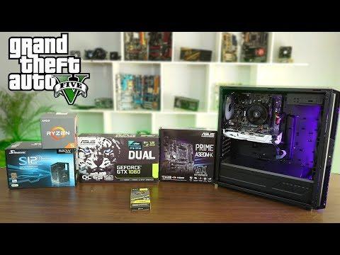 Ensamblando PC gamer para GTA V y jugarlo en Muy alto 1080p 60FPS - Proto HW & Tec