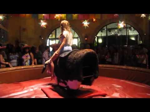 Video Girl riding a mechanical bull like a boss download in MP3, 3GP, MP4, WEBM, AVI, FLV January 2017
