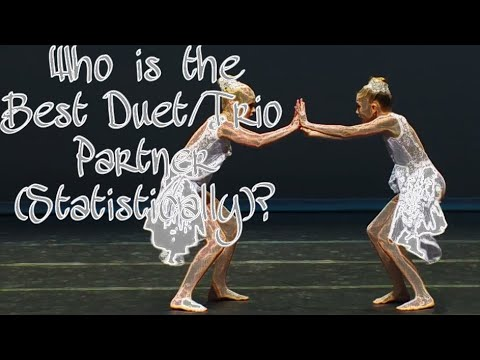 Who Was The Best Duet/Trio Partner (Statistically)? // Dance Moms