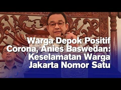 Warga Depok Positif Corona, Anies Baswedan: Keselamatan Warga Jakarta Nomor Satu