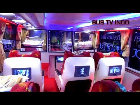 Kemewahan BUS No1 DI Indonesia SEMPATI STAR PANORAMIC Double Decker SDD