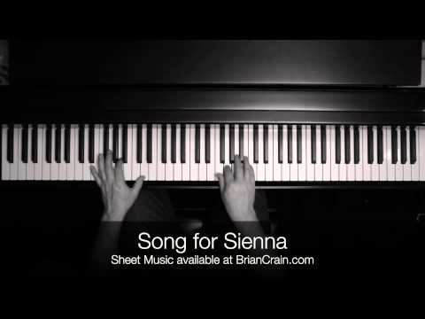Brian Crain - Song for Sienna (Overhead Camera)