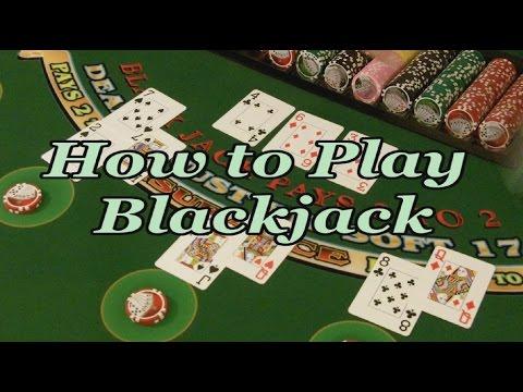 How to Play Blackjack FULL VIDEO
