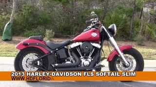10. Used 2013 Harley Davidson FLS Softail Slim Motorcycles for sale in Baton Rouge LA