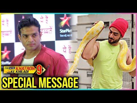 Karan Patel Wishes Aly Goni For Khatron Ke Khiladi