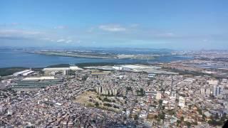 aproximacao e pouso no aeroporto do galeao rio de janeiro brasil pista 15