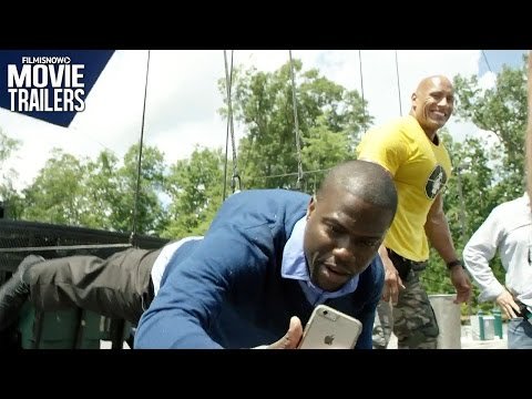 How they filmed the comedy CENTRAL INTELLIGENCE ft. Dwayne Johnson & Kevin Hart
