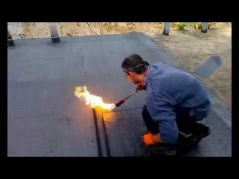 Перекрытие крыши рубероидом своими руками 90