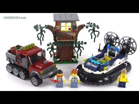 """Конструктор Lego City 60071 """"Полицейское судно на воздушной подушке"""""""