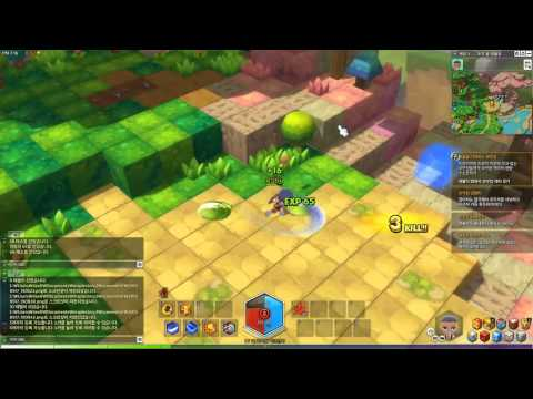 MapleStory 2 – Alpha Test: Knight Gameplay