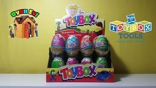 Sürpriz yumurta videolarımıza Toybox marka ile devam ediyoruz. Sürpriz oyuncaklarla tanışmaya hazır mısınız?Diğer videoları mızı  izlemek için kanalımıza abone olunuz!* Abone olmak için TIKLAYIN: http://www.youtube.com/user/TheOyunca...* Facebook sayfamızı BEĞENİN: https://www.facebook.com/OyunEvimiz* Twitter'da TAKİP EDİN: http://www.twitter.com/Oyunevimiz♥ En güzel oyun hamuru videoları:https://www.youtube.com/watch?v=bqZJhrAHPCI&list=PLWU6OsJP4Le2AK8xhd_Z9BAvUvSBRgzP4♥ En güzel sürpriz yumurta videoları:https://www.youtube.com/watch?v=sLniFd5IEfQ&list=PLWU6OsJP4Le0zeZ9xw9tbRgVd0oIj9KUs♥ En güzel oyuncak videoları:https://www.youtube.com/watch?v=IN498-PvzpQ&list=PLWU6OsJP4Le1rqmahsl9iqHDnGn8ed0uw