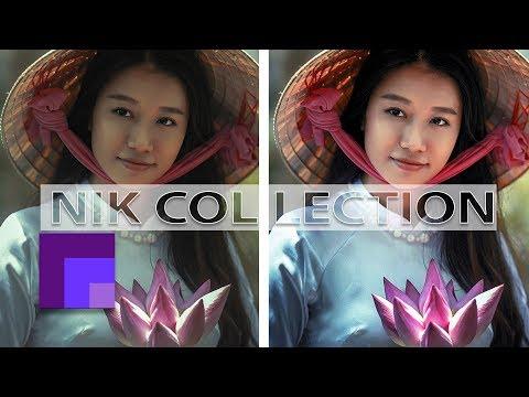 Nik Collection - Color Efex Pro  - Portrait Edit