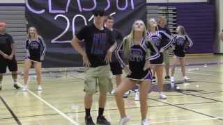 Football and Cheer Dance 2015
