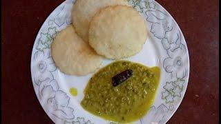 Easy breakfast recipe.. Malabar style pathiri (kerala dish) and green gram curry. Have fun cooking..https://www.facebook.com/anjusrecipes/