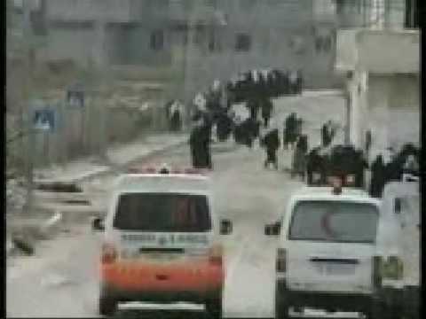 Pendemo Ibu-ibu ditembaki tentara Israel