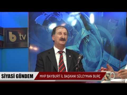 MHP İL Başkanı Süleyman Burç