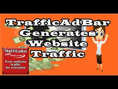 TrafficAdBar Generates Website Traffic