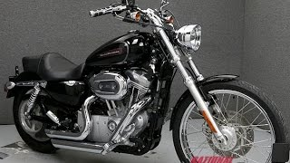 6. 2009  HARLEY DAVIDSON  XL883C SPORTSTER 883 CUSTOM  - National Powersports Distributors