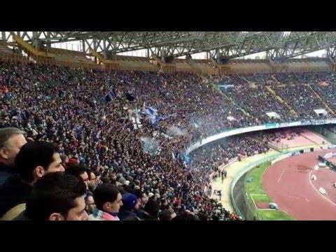 Nuovo coro ultras Napoli, torna a essere campion!